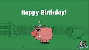 new birthday ecard u2013 gettin u0027 piggy with it the jibjab blog