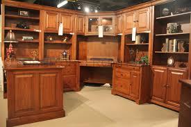 Partner Desks Home Office by Country Cherry Home Office Corner Desk Set 3656