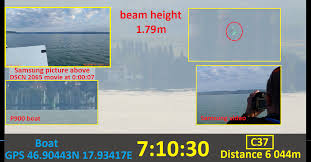 lake balaton laser experiment to determine the curvature of the