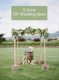 wedding arches how to make 5 original stress free diy wedding ideas including invitations