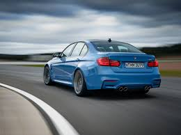 Bmw M3 Series - revealed 2015 bmw m3 sedan and m4 coupe 5series net
