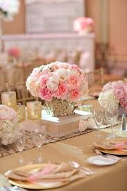 pink table decorations for weddings workshop net