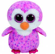 ty beanie boo glider pink penguin keyring devine aromas