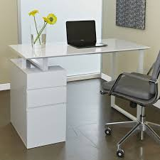 Modern Desk With Drawers Modern Desks Talia Desk W File Eurway Furniture