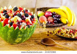 Bowl Of Fruits Watermelon Bowl Stock Images Royalty Free Images U0026 Vectors
