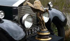 spirit of ecstasy statue accessory by priory rolls