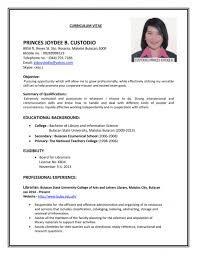 resume singapore resume raja logistics manager resume samples