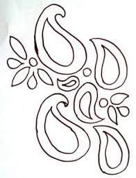 stencils of paisley design this paisley stencil in a stencil