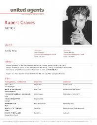 Actor Sample Resume Resume Examples For Actors Acting Resume Example Theatre Acting