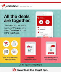 target cartwheel app black friday target cartwheel has now moved into the target app