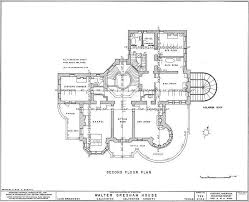 Gilded Age Mansions Floor Plans Bishop U0027s Place 2nd Floor Plans Home Floor Plans Pinterest