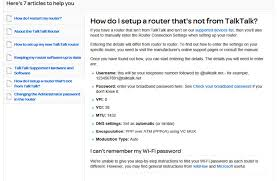 Talktalk Help Desk Telephone Number Re Hg633 Router Internet Username And Password En Talktalk