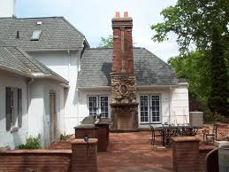 red brick outdoor fireplace outdoor brick fireplaces red brick