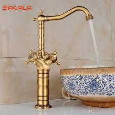 Antique Brass Bathroom Faucet by Bakala New Arrival Tall Faucet Vintage Style Bathroom Basin Sink