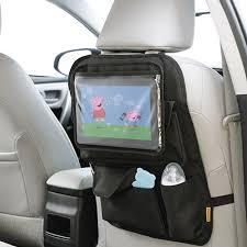 porta tablet auto organizador banco carro infantil porta treco tablet bolsos r 68