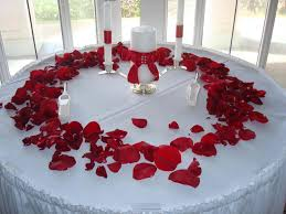 Romantic Bed Decoration For Wedding Night Bridal Room Decoration With Roses