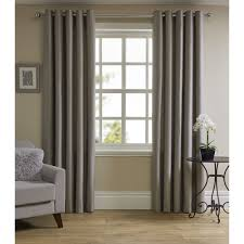 pictures of curtains wilko waffle weave eyelet lined curtains silver 167x137cm at wilko com