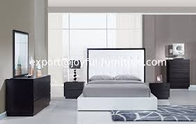 Bedroom Sets From China New Design Apartment Interior White Wenge Panel Bedroom Furniture Set