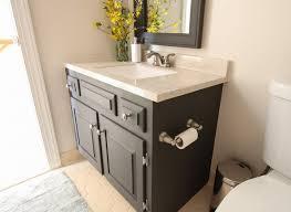 Repainting Bathroom Cabinets How To Paint A Bathroom Vanity Angie U0027s List