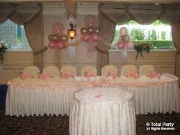 sweet 16 table decorations portfolio sweet sixteens total party llc