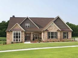 brick house plans eplans cottage house plan rustic with space age amenities