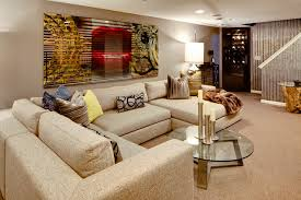 burgundy throw pillows family room eclectic with beige carpet