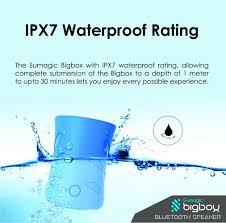 amazon com sumagic bigbox mini wireless waterproof ipx7 bluetooth