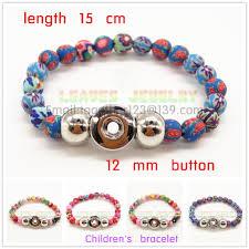 children s bracelets new year new 12 mm children s snaps button bracelets manual