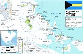 Map Bahamas Bahamas