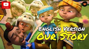 download film ipin dan upin terbaru bag 2 upin ipin our story english version hd youtube