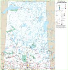 map of northern saskatchewan