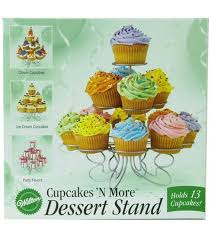 Wilton Cupcake Decorating Wilton Cupcakes U0027n More Dessert Stand Small Joann