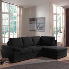 canapé angle droit en tissu savanah noir et pvc viper dya alinéa ikar canapé d angle droit convertible en tissu noir achat