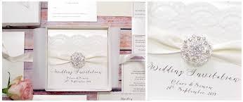 Wedding Invitations With Ribbon Luxury Wedding Invitations Uk