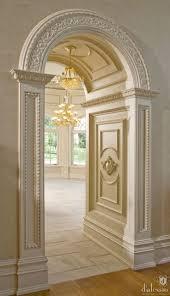 Unique Home Architecture It looks like a castle corridor arch