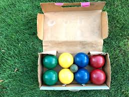 forster bocce ball competition set no 6200 competitors series