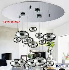 Hanging Decor From Ceiling by Aliexpress Com Buy H 80cm Murano Due Bubble Glass Lampshade