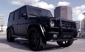 matte black mercedes g class mercedes g class black on black mario design