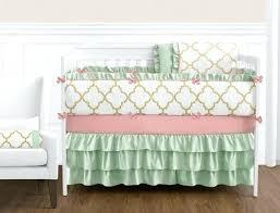 coral baby bedding set coral crib bedding sets u2013 hamze