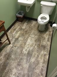 waterproof vinyl plank for an irmo dentist office