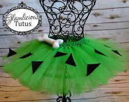 Green Tutu Halloween Costume Pebbles Tutu Etsy