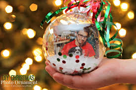 diy photo ornaments are the gift idea 2 boys