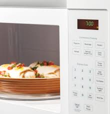 Ventless Microwave Ge 1 6 Cu Ft Over The Range Microwave Oven Jvm3160dfww Ge
