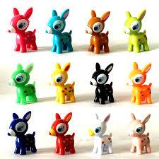 aliexpress com buy 12pcs set new mini puchi babie deer diy