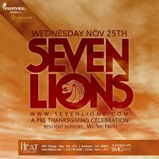 seven lions tickets 11 25 15