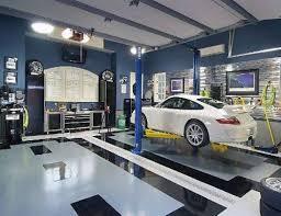 Garage Designs Uk Extraordinary Garage Interior Designs Uk With Shop 1900x809