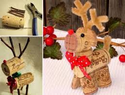 reindeer wine cork decorations don t need the bottle description