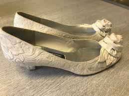 wedding shoes and bromley vintage stuart weitzman bromley ivory wedding shoes us
