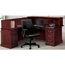 Wood L Shaped Desk China Executive Reception L Shaped Desk Mdf Wood Veneer On Global