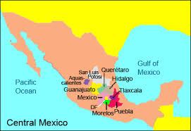 map central mexico which mexican states are considered to make up central mexico quora
